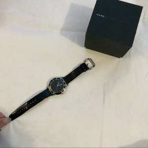 Marc by Marc Jacobs Leather Strap Watch